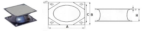 rio rubber track diagram plate compactor buffer rubber (2)