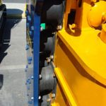 Rio Rubber Track Buffer Rubber Vibratory Pile Hummer Close Up