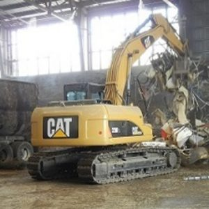 rio rubber track pads on excavator 2